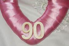 90 éves köszöntése